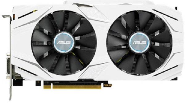 ASUS DUAL-GTX1060-O6G - 6GB GDDR5 (192 bit), HDMI, DVI, 2x DP, 1784boost clock