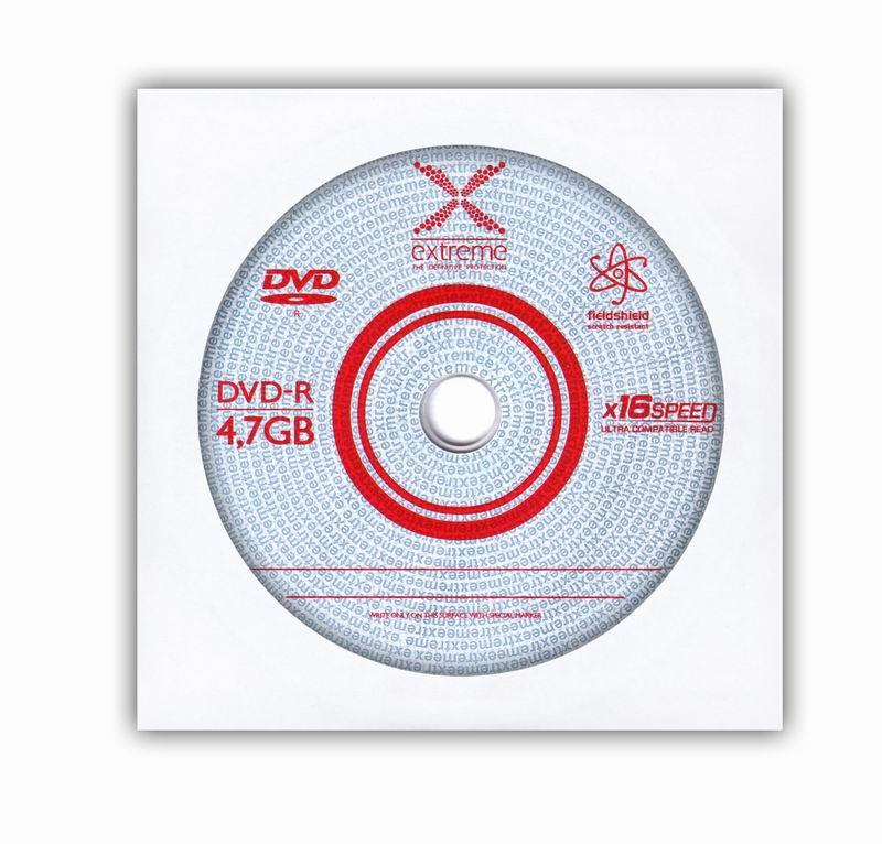 Extreme DVD-R [ obálka 1 | 4.7GB | 16x ]