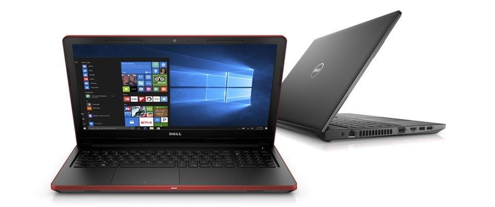 """Dell Vostro 3568 15"""" HD i5-7200U/4GB/500GB/HD/VGA/HDMI/USB/RJ45/DVD/W10Pro/3RNBD/Černý"""