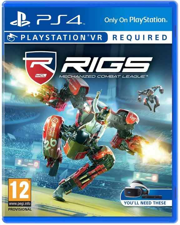 SONY PS4 hra RIGS Mechanized Combat League VR