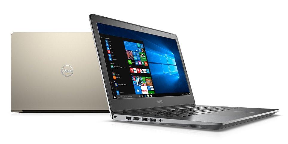 """DELL Vostro 5468/i3-7100U/4GB/500GB/Intel HD/14""""/HD/FingerPrint//Win 10 PRO 64bit/šedý"""