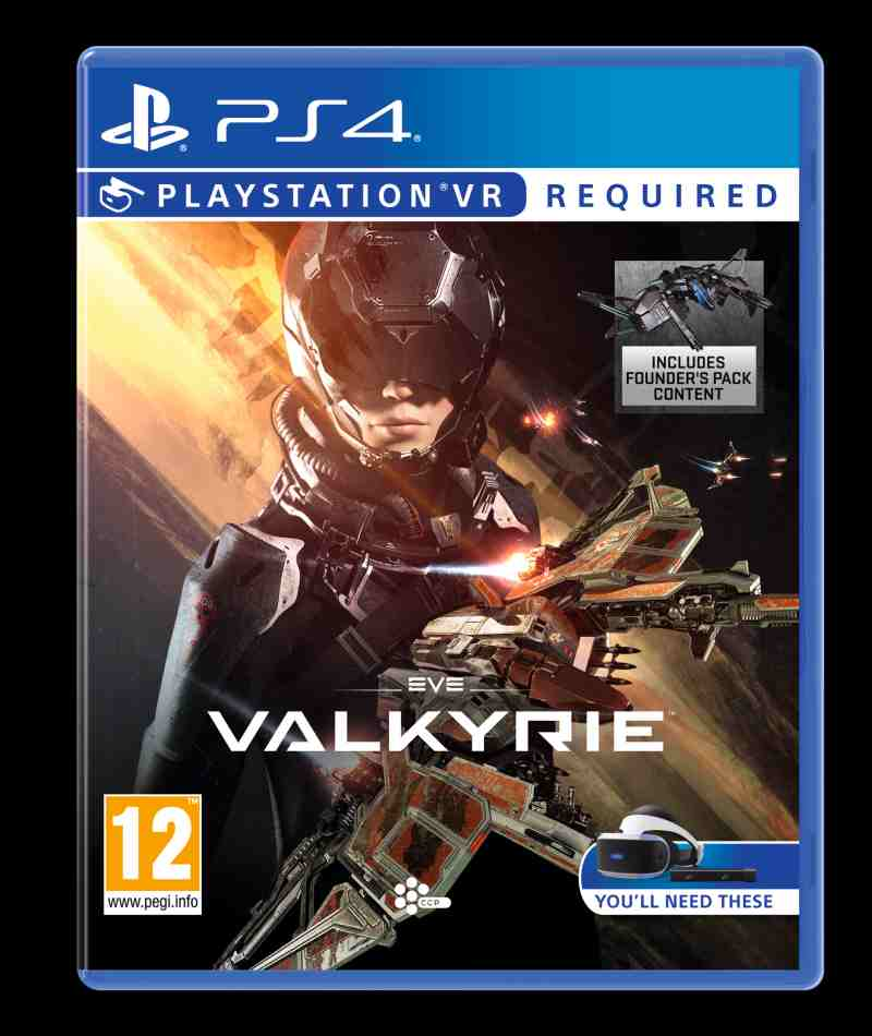 SONY PS4 hra Eve Valkyrie VR