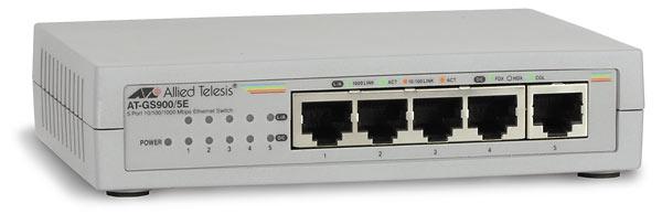 Allied Telesis 5xGB ext.PSU AT-GS900/5E