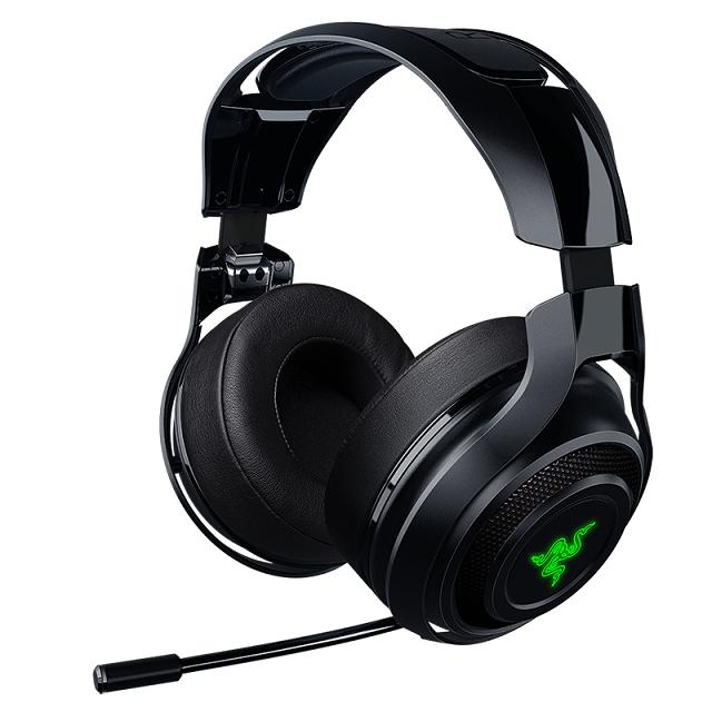Headset Razer ManO'War, LAG Free 2.4GHz wireless technology, 7.1 surround, 50mm