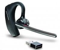 PLANTRONICS Bluetooth Headset Voyager 5200 UC, BT USB adaptér