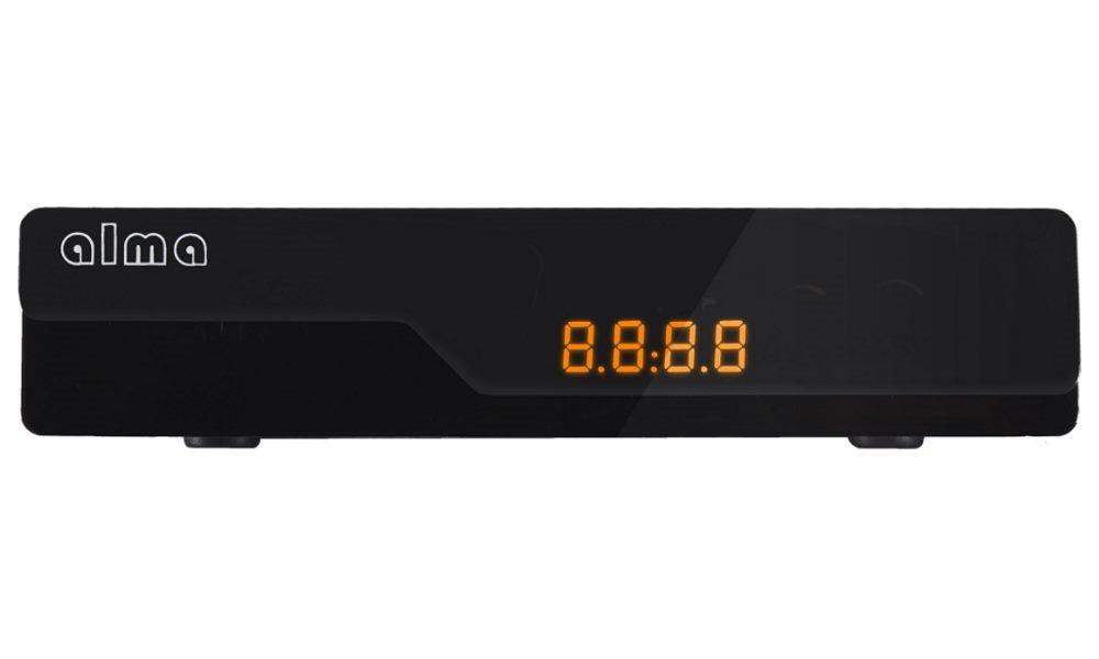 ALMA DVB-T2 HD přijímač 2780 s displejem/ Full HD/ USB/ SCART/ černý