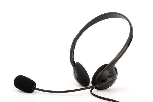 Modecom Logic LH-20 headset, sluchátka s mikrofonem, černá