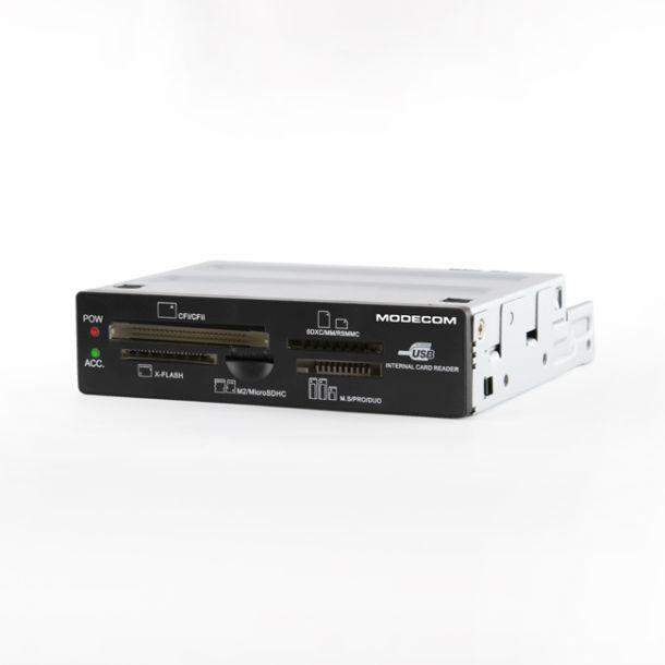 Čtečka paměťových karet Modecom MC-CR107 - interní (černá)
