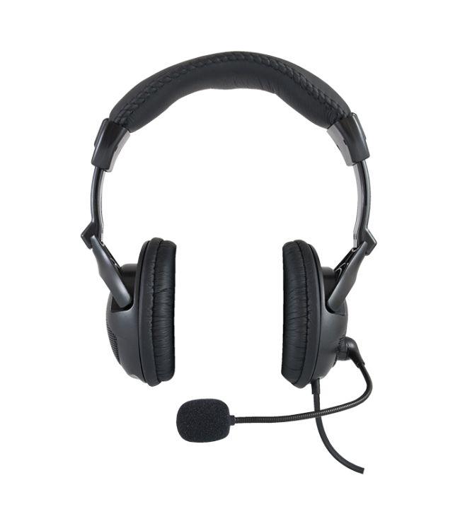 Modecom Logic LH-40 headset, herní sluchátka s mikrofonem, černá