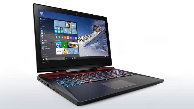 "Lenovo Y900-17ISK i7-6700HQ 3,50GHz/16GB/SSD 128GB+HDD 1TB/17,3"" FHD/IPS/AG/GeForce 4GB/WIN10 černá 80Q1006MCK"