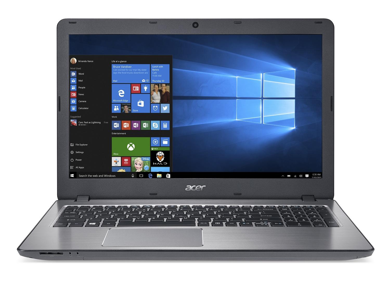 "Acer Aspire F 15 (F5-573-335F) i3-6157U/4 GB+N/256GB SSD M.2+N/DVDRW/Intel Iris Graphics/15.6"" FHD matný/BT/W10 Home/Silver"