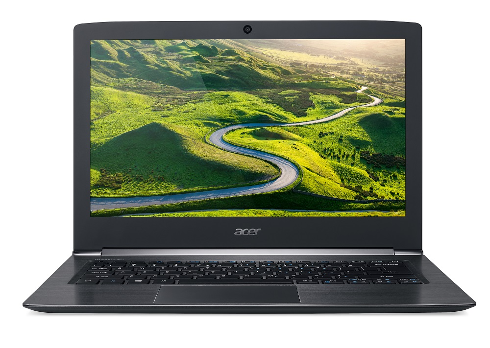 "Acer Aspire S 13 (S5-371T-72X4) i7-7500U/8GB+N/512GB SSD M.2+N/HD Graphics/13.3"" FHD Multi-Touch/BT/W10 Home/Black"