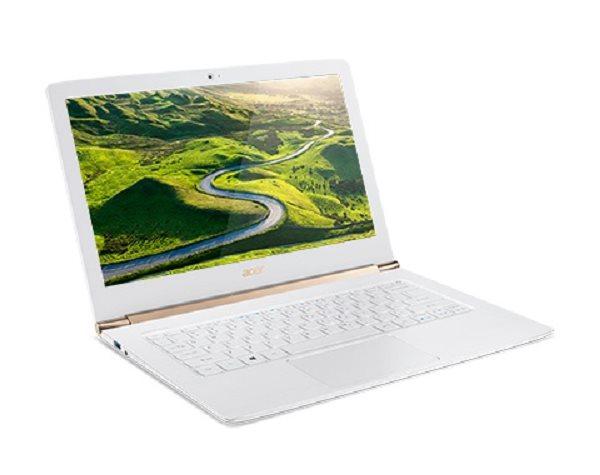 """Acer Aspire S 13 (S5-371T-56LR) i5-7200U/8GB+N/256GB SSD M.2+N/HD Graphics/13.3"""" FHD Multi-Touch/BT/W10 Home/White"""