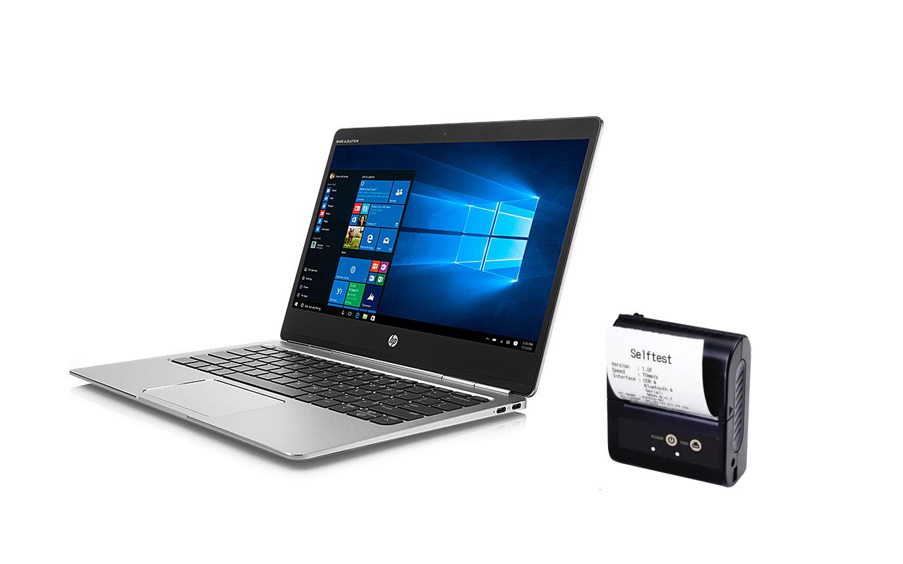 Notebook nebo počítač + pokladní tiskárna + pokladní SW