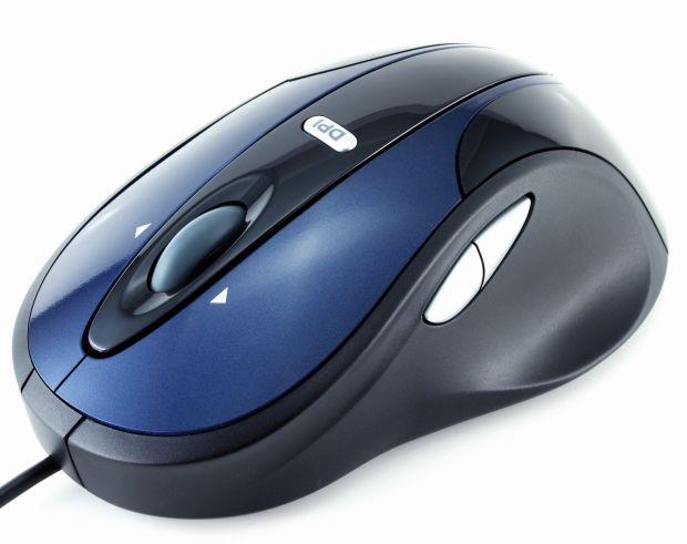 Modecom optická myš MC-910 (modro-černá)