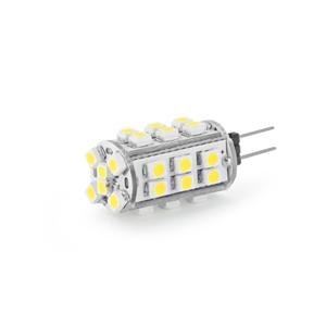 WE LED žárovka 30xSMD 1,5W G4 teplá bílá