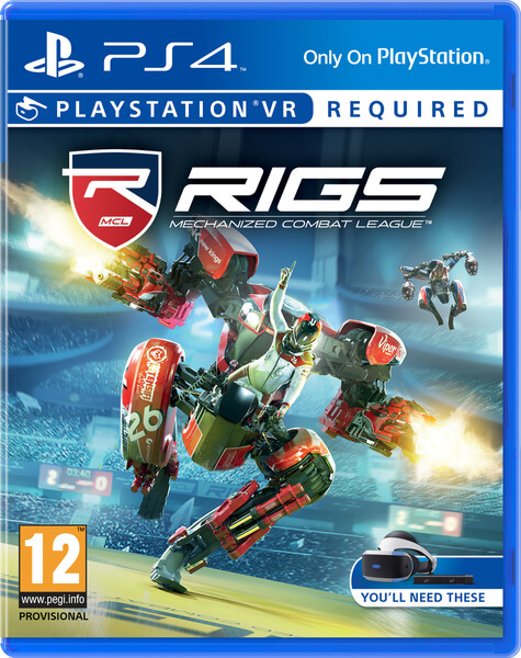 PS4 VR - RIGS Mechanized Combat League