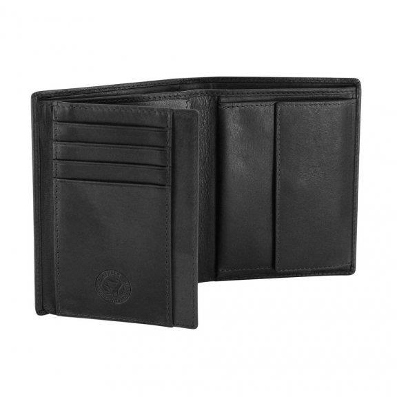 Wenger wallet leather Rautispitz W7-01BK black