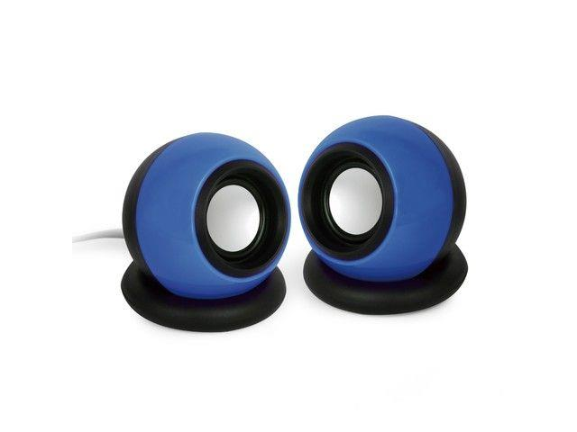 Gembird Stereo Speakers 2.0 System, 2x3W, blue