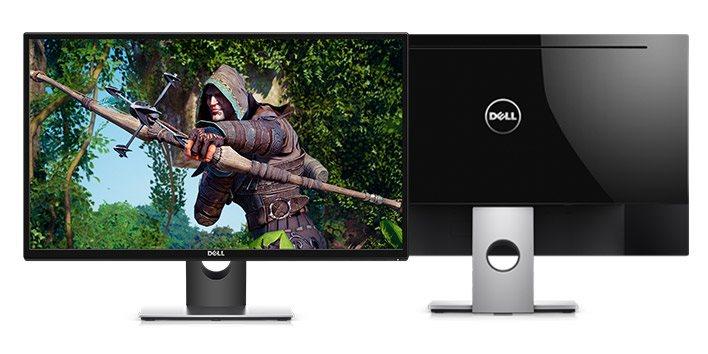 """Dell SE2717H LCD 27"""" IPS/1920x1080 FHD/1000:1/6ms/HDMI/VGA/cerny"""