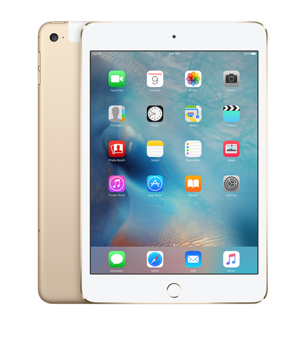 iPad mini 4 Wi-Fi+Cell 32GB Gold