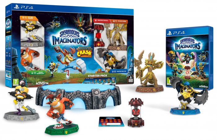 PS4 - Skylanders Imaginators Crash Edition -14.10.