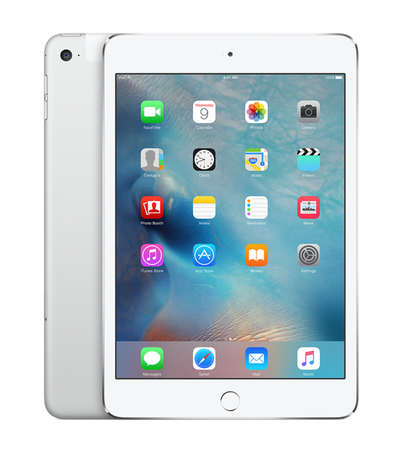 iPad mini 4 Wi-Fi+Cell 32GB Silver