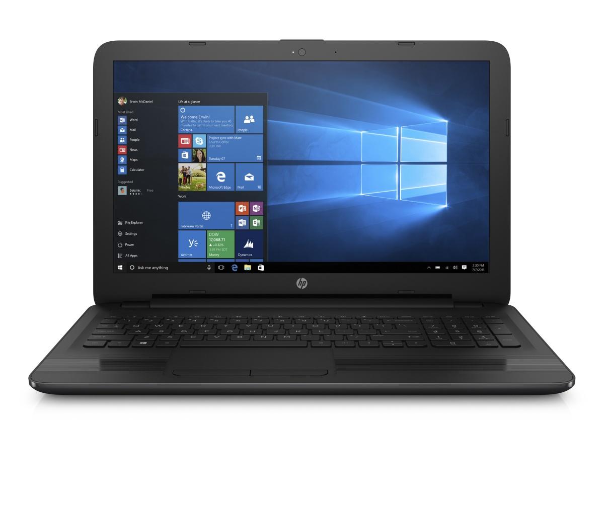 HP NB 250 G5 i3-5005U 15.6 FullHD 4GB 256GB DVDRW W10