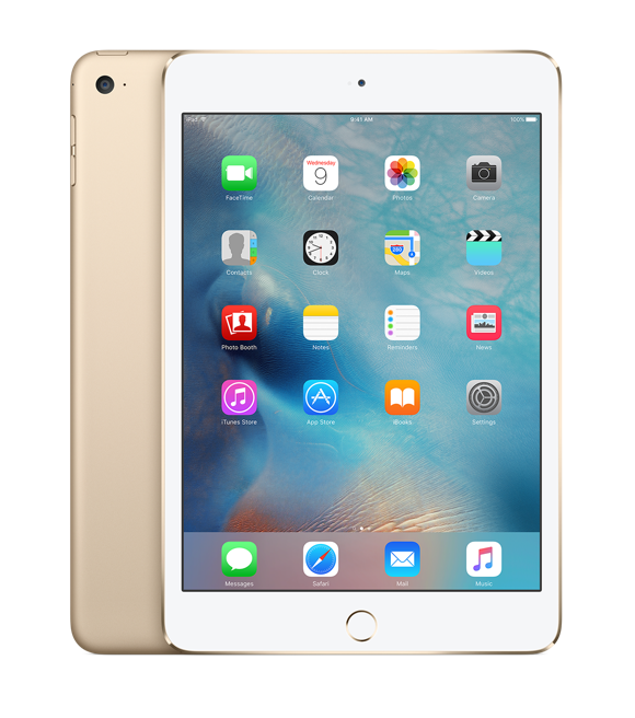 iPad mini 4 Wi-Fi 32GB Gold