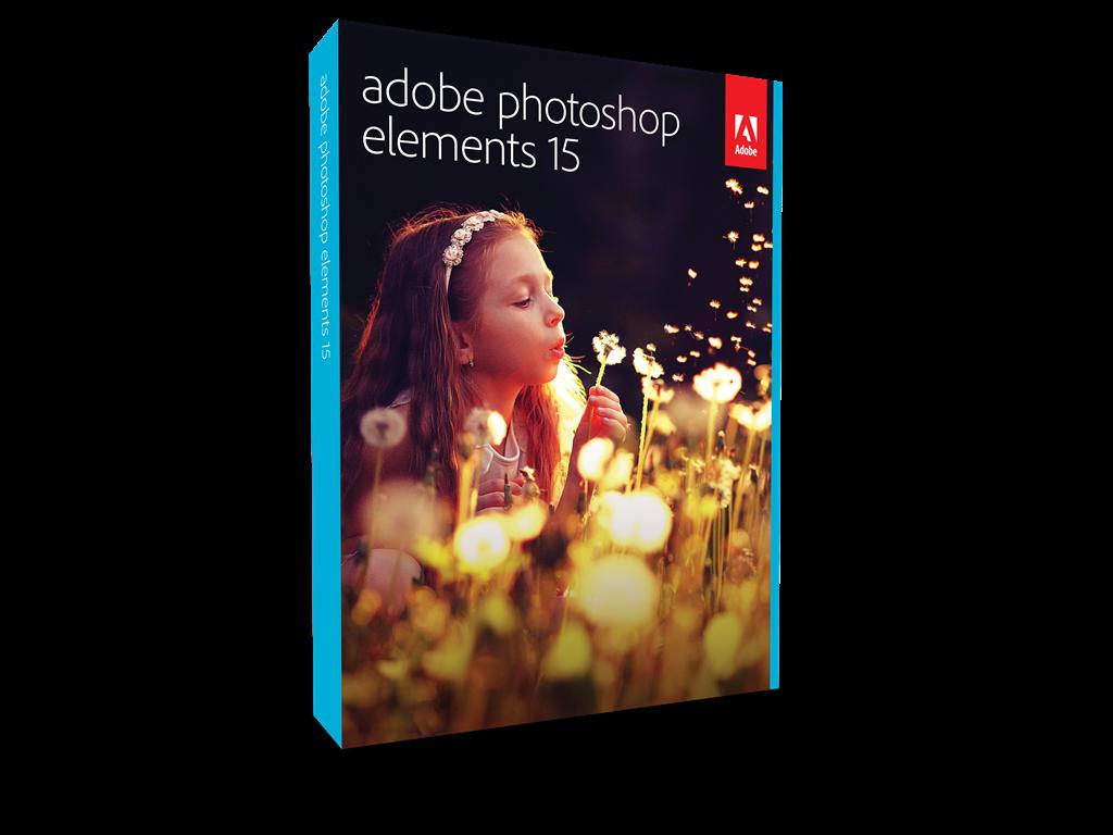 Adobe Photoshop Elements v15, MLP, English, Upgrade, 1 User