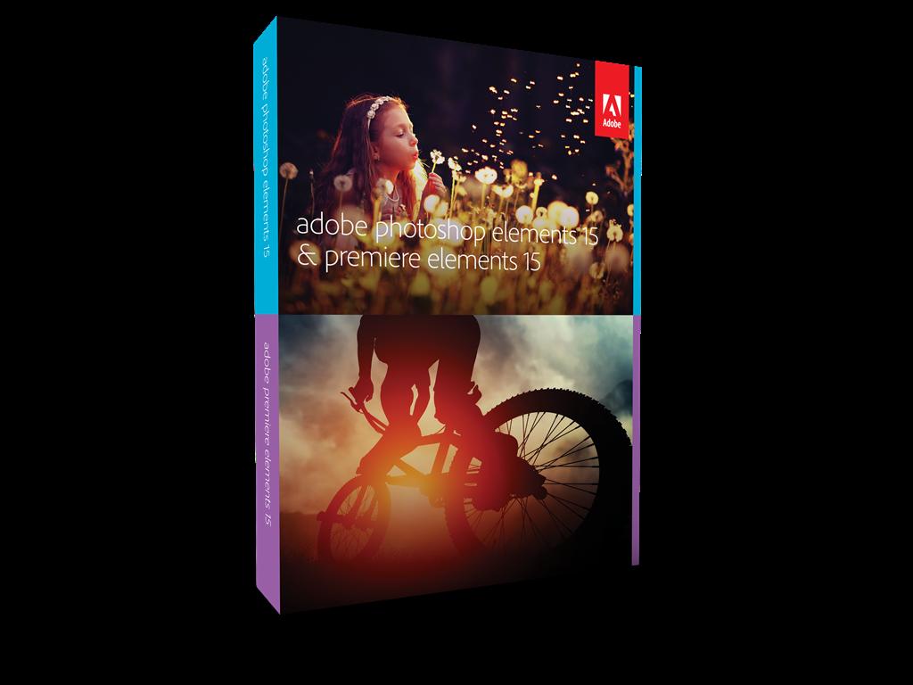 Adobe PHSP & PREM Elements v15, MLP, English, Retail, 1 User