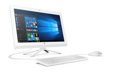 HP All-in-One 24-g000nc, i3-6100U, 23.8 FHD, IntelHD, 4GB, 1TB 7k2, DVDRW, b/g/n+BT, KLV+MYS, W10, 2y