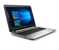 HP ProBook 450 G3, i3-6100U, 15.6 HD, 4GB, 500GB, DVDRW, ac, BT, FpR, backlit keyb, W10Pro-W7Pro