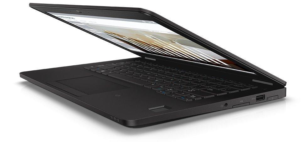 "Dell Latitude E7270 12"" FHD i7-6600U/8GB/256GB SSD/Intel HD/FPR/SCR/MCR/HDMI/DP/USB/W10P/3RNBD/Černý"