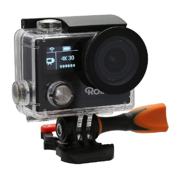 Rollei ActionCam 430 - 4K video 30 fps/ 1080/120 fps/ 170°/ 40m pzd./ Dál.ovl/ Wi-Fi/ Černá