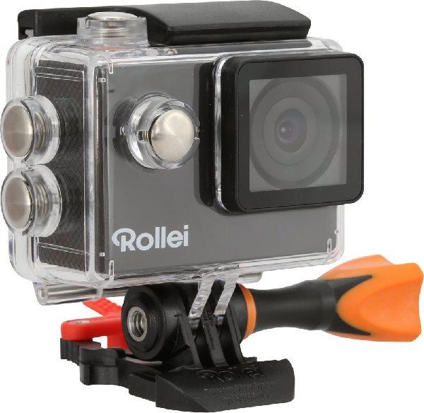Rollei ActionCam 300 Plus - HD video 720p/30 fps/ 140°/ 40m pzd./ Černá/ CZ + SK menu + držák do vody