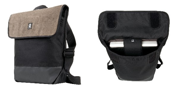 Crumpler Proper Roady Leather Sling M - suede leather/black