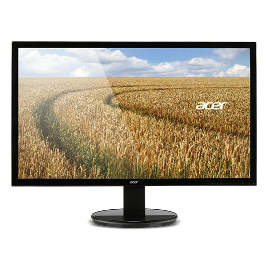 "Acer LCD K202HQLAb, 50cm (19,5"") LED, 1366x768, 100M:1, 5ms, VGA, Black"