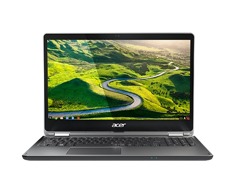 "Acer Aspire R15 (R5-571TG-55RU) i5-7200U/4GB+4GB/256GB SSD M.2+N/GeForce 940MX 2G/15.6""FHD IPS Multi-Touch/BT/W10 Home/Gray"