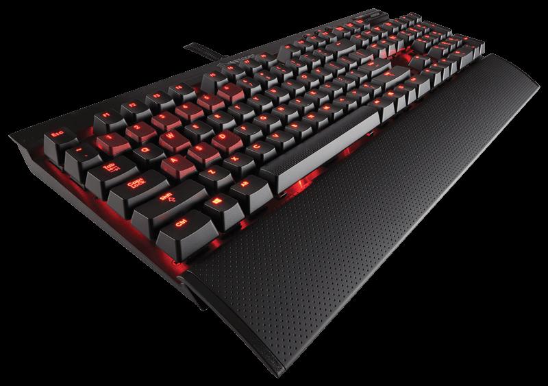 Corsair Gaming K70 Mechanical Keyboard - Cherry MX Red (EU)