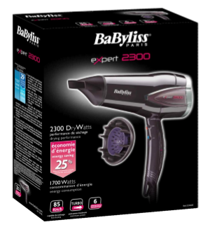 Hair dryer BaByliss D362E