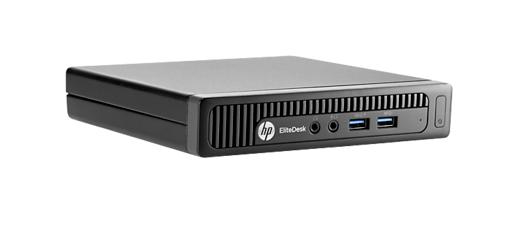HP EliteDesk 800 Mini G1 i3-4160 4GB 500GB Win 7 Pro 32Bit