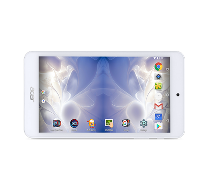 "Acer Iconia One 7 (B1-780-K91H) MTK MT8163/7"" IPS Touch/1280 x 720 HD/1GB/eMMC 16GB/BT/Android 6.0 Marshmallow/White"