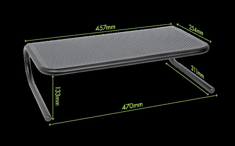 Allsop Kovový stojan na monitor nebo NB (47x31,1x13,3)