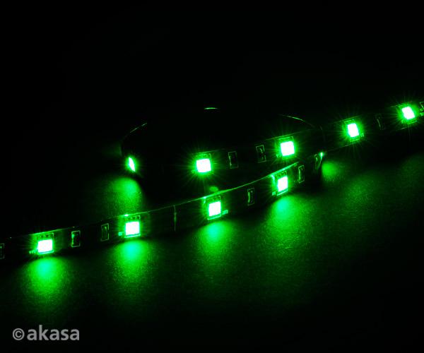AKASA - LED páska-magnetická - zelená Vegas M