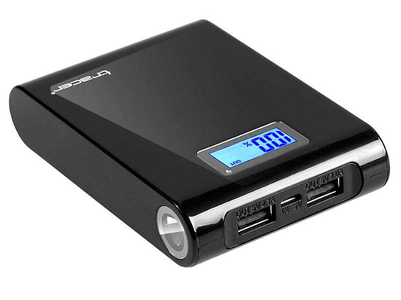Powerbank 10400 mAh Black