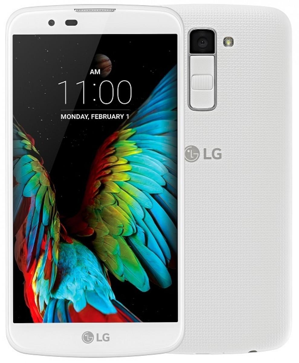 LG K10 LTE (K420n) - Bílý