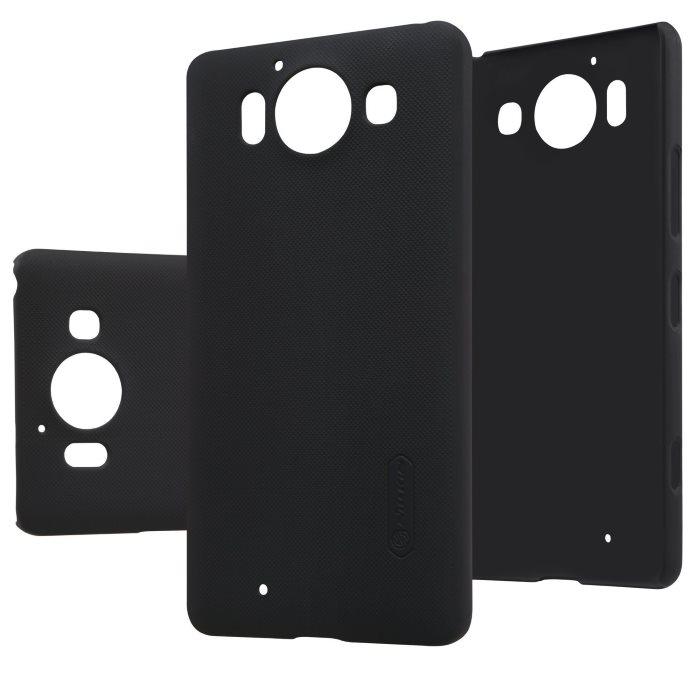 Nillkin Frosted Kryt Black pro Nokia Lumia 950
