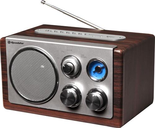 HRA-1345US/WD Stolní radiopřij. AM/FM,re