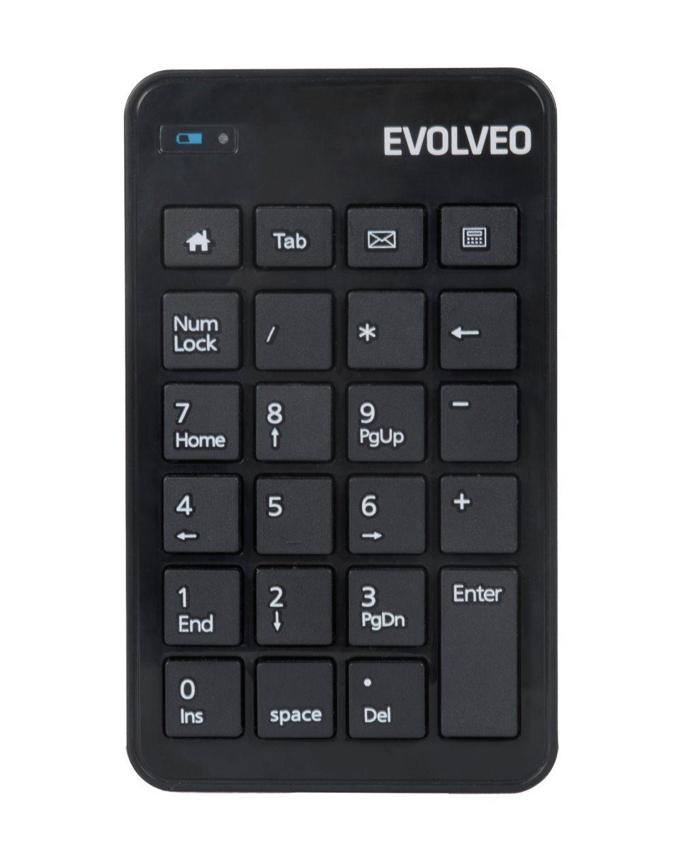 EVOLVEO WN160, bezdrátová numerická klávesnice